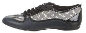 Louis Vuitton Leather Monogram Sneakers