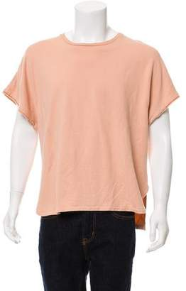 Blurhms French Terry Cut Off Box Tee w/ Tags