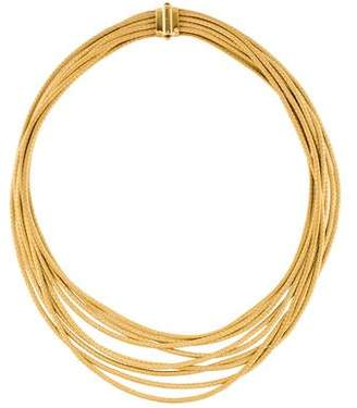Marco Bicego 18K Caro Nine-Strand Woven Collar Necklace