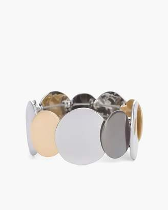 Mixed-Metal Circlet Stretch Bracelet