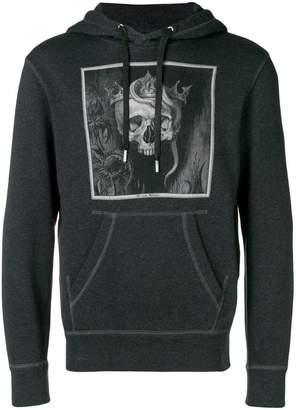 Alexander McQueen crowned skull hoodie