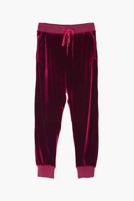 Genuine People Silky Velvet Sweatpants