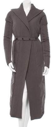 Rick Owens Belted Long Coat