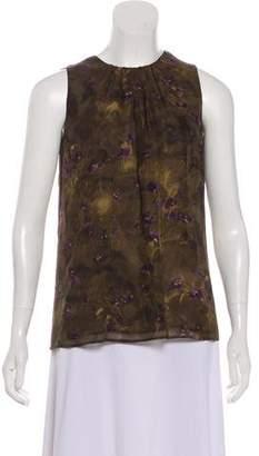 Michael Kors Silk Sleeveless Top