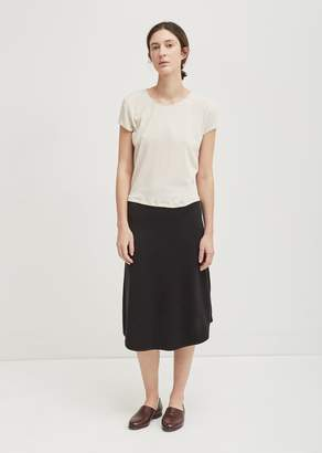 La Garçonne Moderne Studio Knit Skirt Black