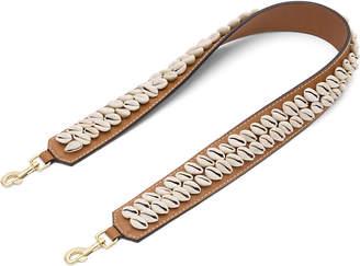 Loewe Shells leather shoulder strap