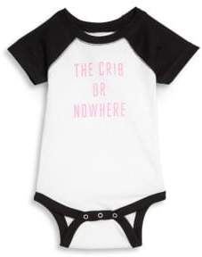 Knowlita Baby's The Crib Or Nowhere Bodysuit
