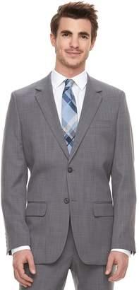 Marc Anthony Men's Slim-Fit Gray Crosshatch Stretch Suit Jacket