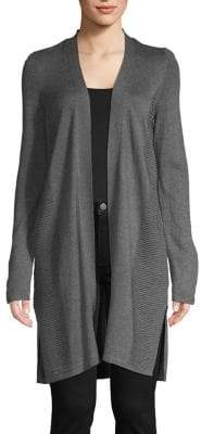 INC International Concepts Classic Ribbed Cardigan