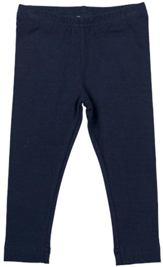 Florence Eiseman Stretch-Knit Leggings, Navy, 4-6X