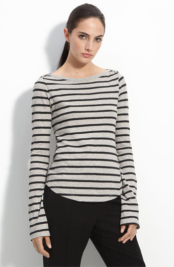 A.L.C. Breton Stripe Boatneck Top