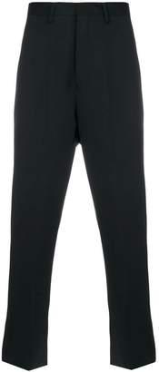 Paura logo print regular trousers