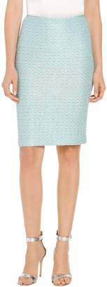 St. John Glitter Sequin Knit Skirt