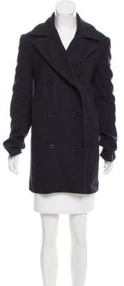 Jenni Kayne Double-Breasted Wool Peacoat
