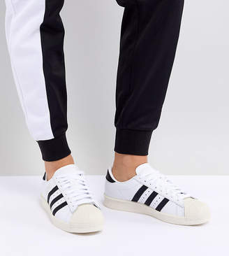 adidas Superstar Og Trainers In White And Black