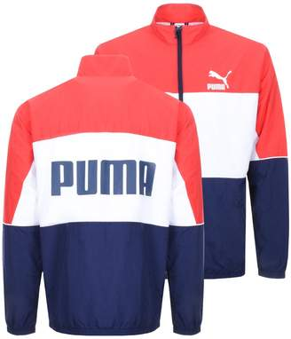 Puma Retro Track Jacket Red