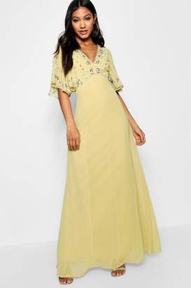 boohoo Boutique Eliza Embellished Maxi Dress