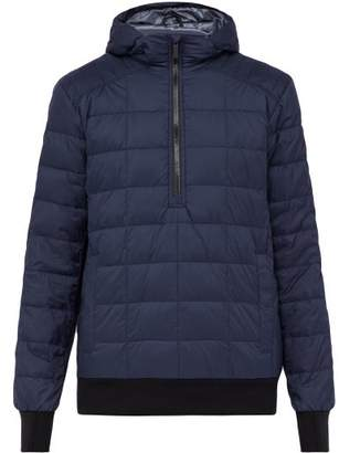 Canada Goose Wilmington Quilted Down Filled Pullover - Mens - Navy