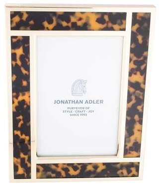 Jonathan Adler Bermuda Brown Tortoise Picture Frame