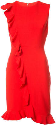 Nicole Miller frill accent dress