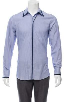 Alexander McQueen Striped Dress Shirt