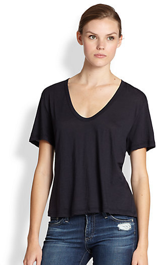 James Perse Wool & Cotton Tee