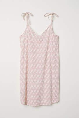 H&M Modal-blend Jersey Dress - Pink