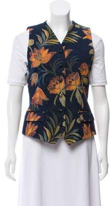 Liberty of London Designs Sleeveless Floral Vest