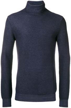 Paolo Pecora roll-neck fitted sweater