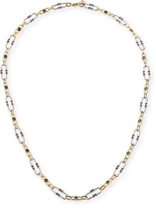 "Kendra Scott Gage Crystal Oval Link Necklace, 36"""