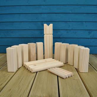 Garden Selections Kubb Viking Chess Wooden Garden Game