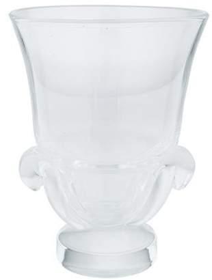 Steuben Crystal Footed Vase