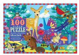 Eeboo Life on Earth 100-Piece Puzzle
