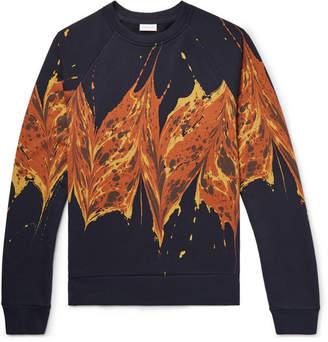 Dries Van Noten Printed Loopback Cotton-Jersey Sweatshirt