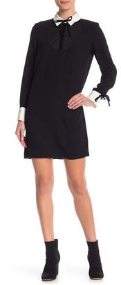 ABS by Allen Schwartz Collection Tuxedo Shift Dress