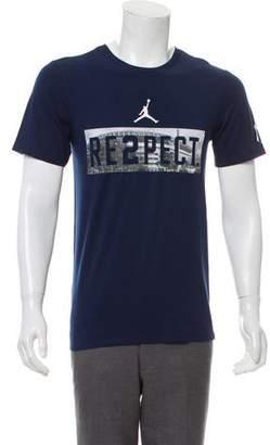 jordan derek jeter respect shirt Source · Jordan Blue Men s Shirts ShopStyle 8f0a92537edf