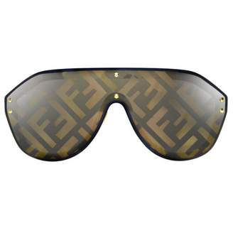 Fendi Brown Plastic Sunglasses