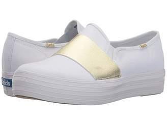 Keds Triple Bandeau Canvas Women's Slip on Shoes