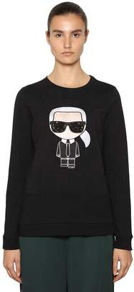 Karl Lagerfeld Ikonik Cotton Sweatshirt