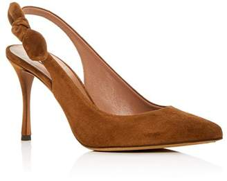 Tabitha Simmons Women's Millie Slingback Pointed Toe Pumps