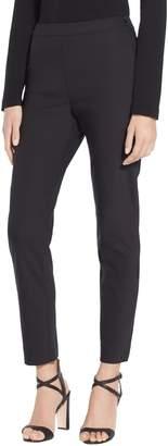St. John Scuba Bi-Stretch Slim Cropped Pants
