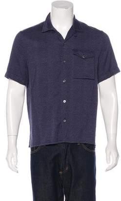 Louis Vuitton Printed Short Sleeve Shirt