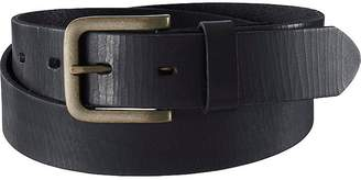 UNIQLO Men's Italian Cracked Leather Belt $29.90 thestylecure.com