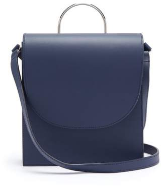 Pb 0110 Ab54 Leather Cross Body Bag - Womens - Navy
