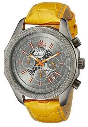 Invicta Men's 18439 Specialty Analog Display Japanese Quartz Orange Watch