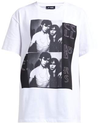 Raf Simons Photographic Print Cotton T Shirt - Womens - White Multi
