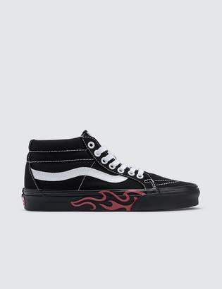 49ef61862ea Vans Flame Cut Out Sk8-mid Reissue