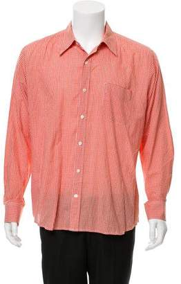 Vince Gingham Casual Shirt
