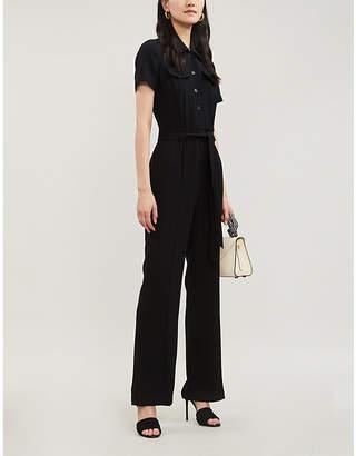 00e570d69aad Black Tie Waist Jumpsuit - ShopStyle UK