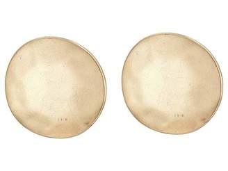The Sak Large Circle Clip Earrings